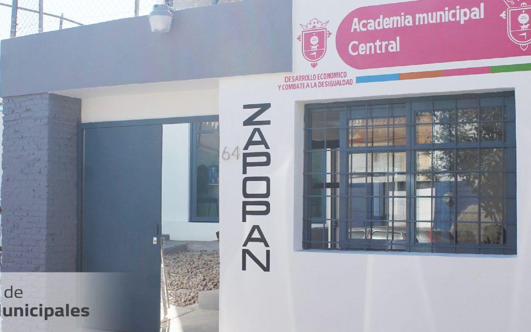 Remodelación de Academias Municipales en Zapopan
