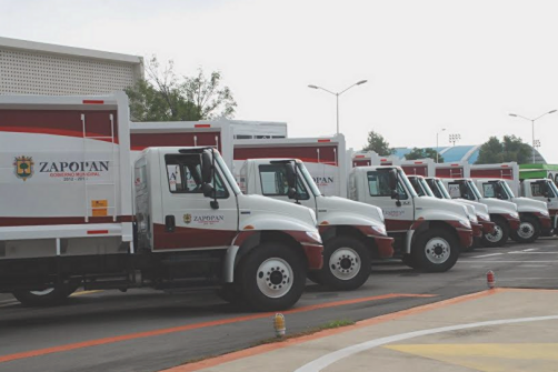 20 nuevos camiones para Aseo Público