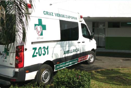Ambulancia de Zapopan