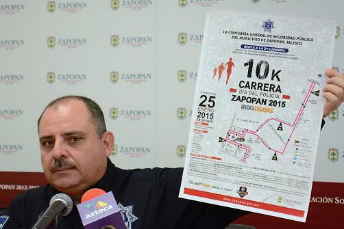 Carrera 10K de la Policía de Zapopan