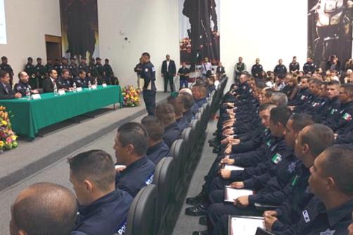 Graduación de la segunda generación de la Policía de Zapopan
