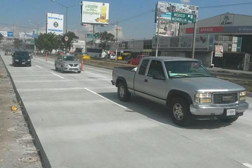 Reabren carriles centrales de López Mateos