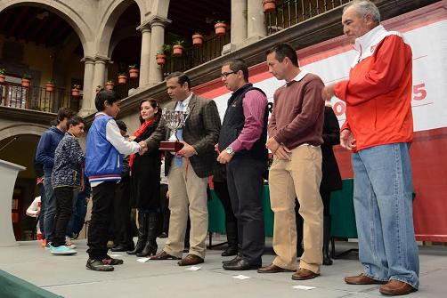 Premiación Copa Mi Barrio 2015