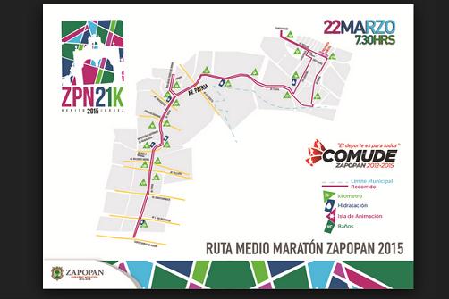 Medio Maratón Zapopan 2015