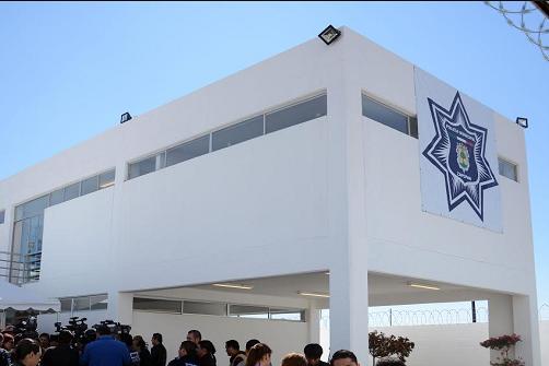 Nueva base de la policía en Los Molinos
