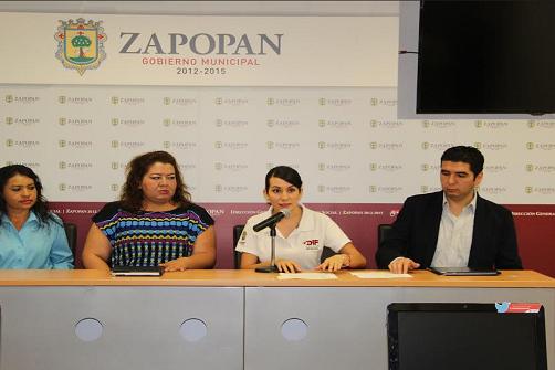 Rueda de prensa del DIF Zapopan
