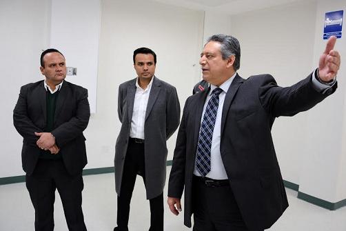 Supervisión de obras en El Hospitalito