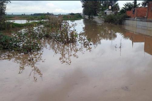 Inundaciones en Jardines de Nuevo México