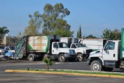 Unidades recolectoras de basura dadas de baja