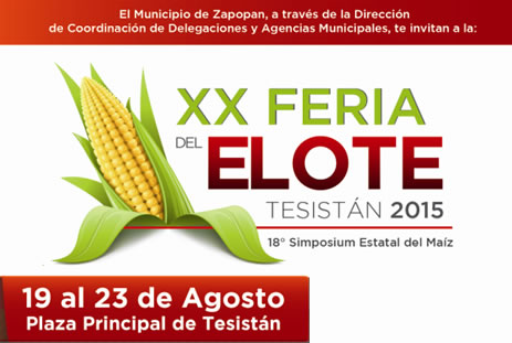 XX Feria del Elote Tesistán 2015