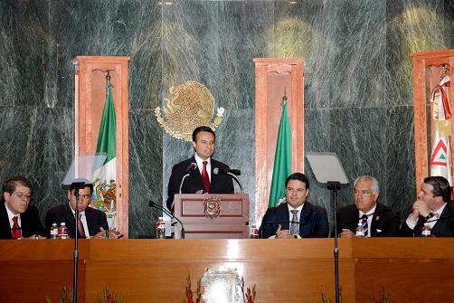 Tercer Informe de Gobierno de Robles Peiro