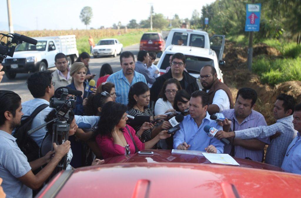 La carretera a Nextipac beneficiará a 82 mil habitantes