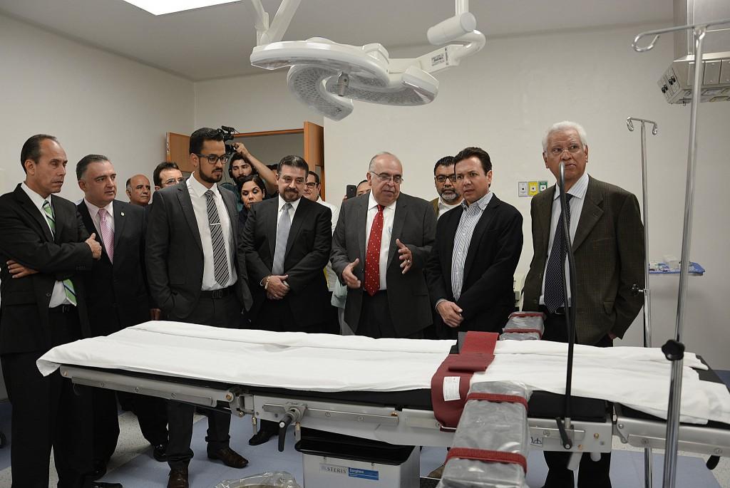 Inauguración quirófanos Hospitalito