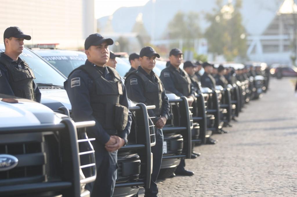 Entrega de patrullas Comisaría General de Seguridad Pública de Zapopan