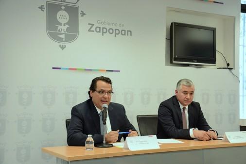 José Luis Tostado, ,Síndico Municipal y Gabriel Lara, Director de lo Jurídico Contencioso