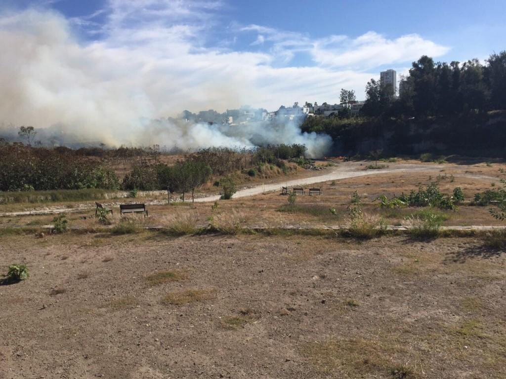 Controlan incendio en Colomos III