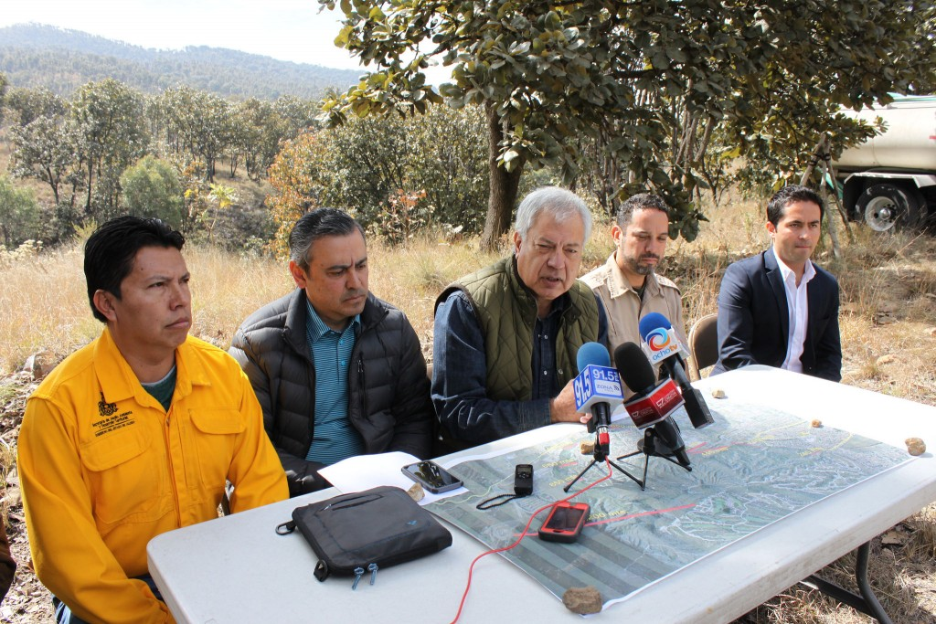 Zapopan inició acciones de prevención de incendios en La Primavera