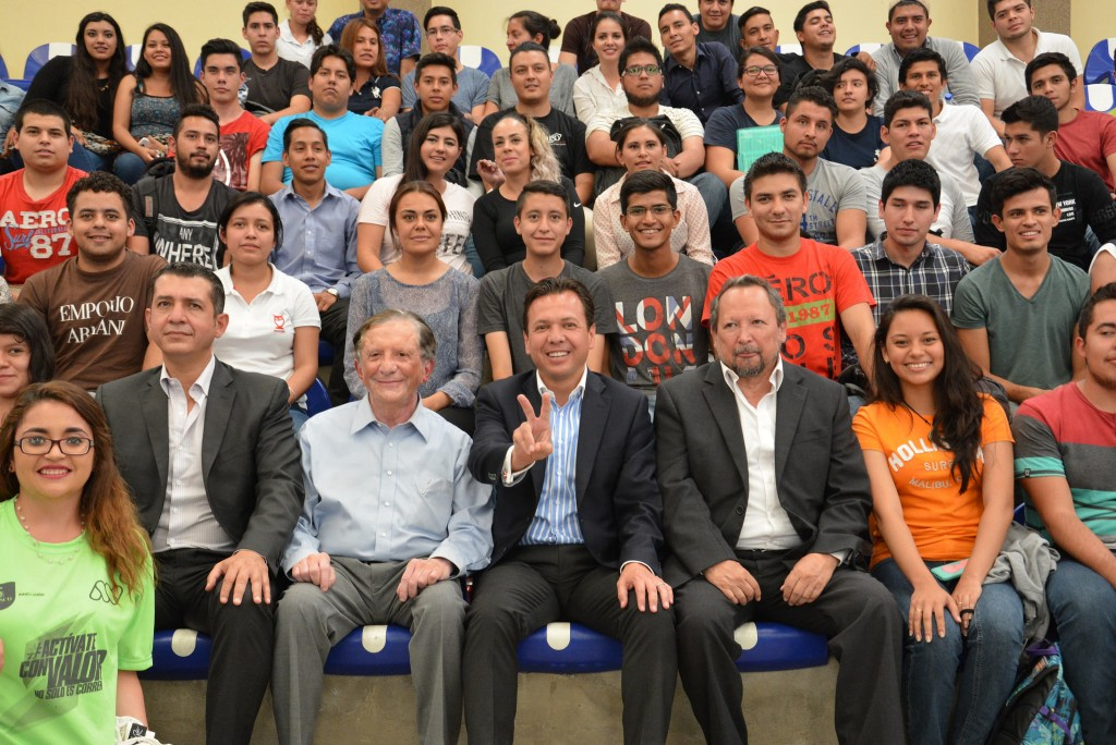 Presentación Campus Party en ITS Zapopan