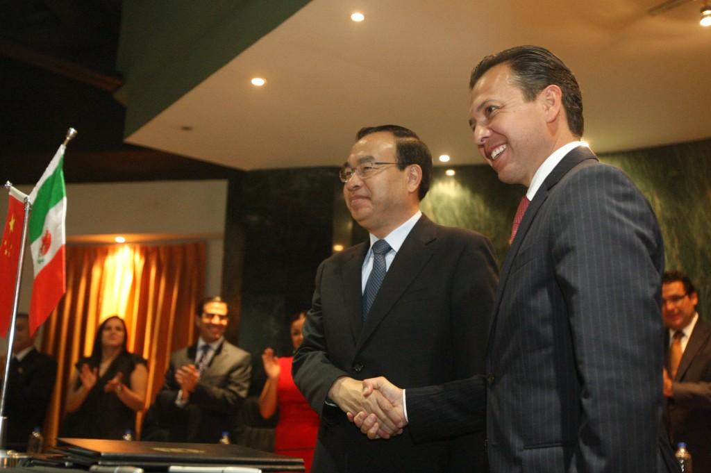 Hermanamiento con Chengdú, China