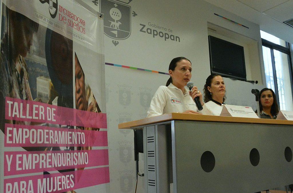 """Fomenta Zapopan capacitación y autoempleo con el """"Taller para mujeres emprendedoras"""" en Centro del Sistema DIF"""