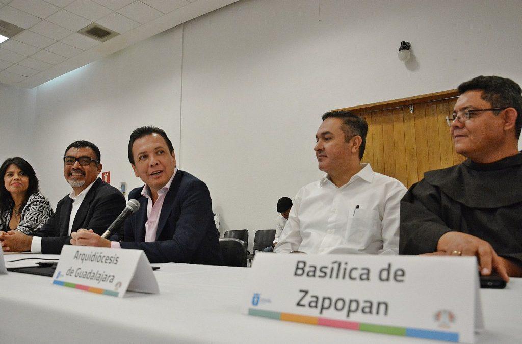 El Gobierno de Zapopan se suma a trabajos rumbo a la Romería 2016