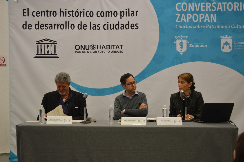 UNESCO y ONU-Hábitat en Conversatorio Zapopan