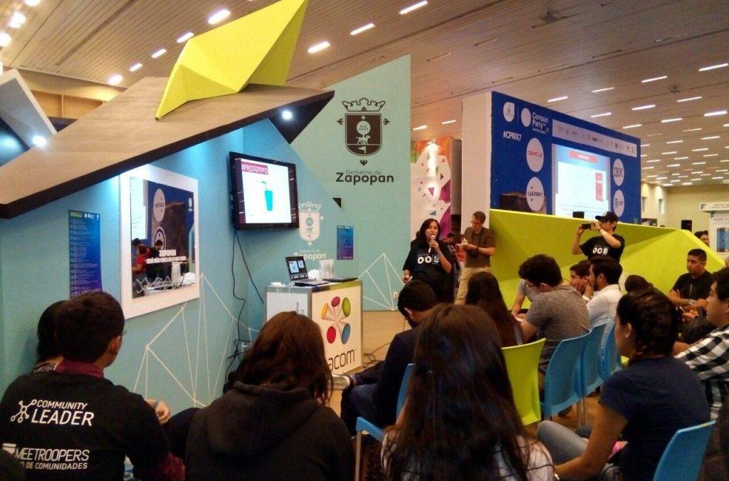 Fomenta Zapopan la creatividad y la innovación en la 7ma edición de Campus Party