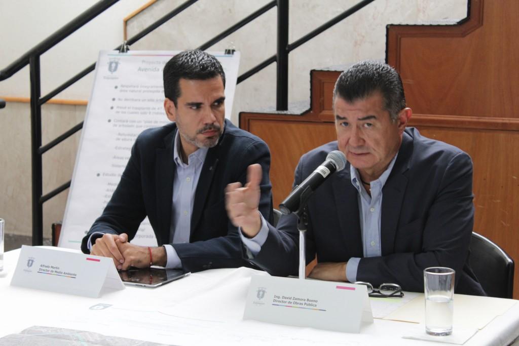 Presenta Zapopan el proyecto de intervención en la Av. Ángel Leaño