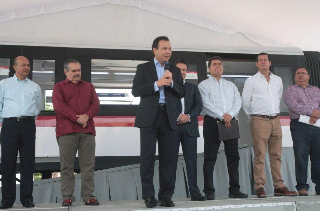 Presentan en Zapopan Maqueta de Tren Ligero para la Línea 3