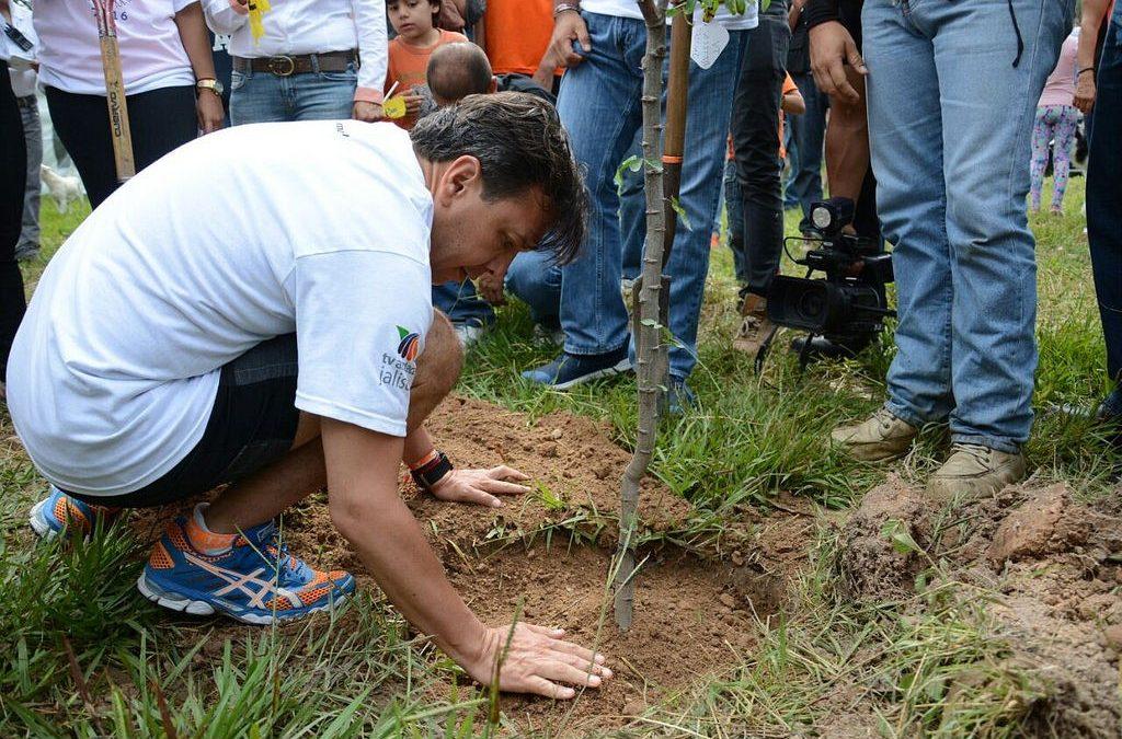 Zapopan se suma a la reforestación del Bosque El Centinela; plantarán más de cinco mil ejemplares