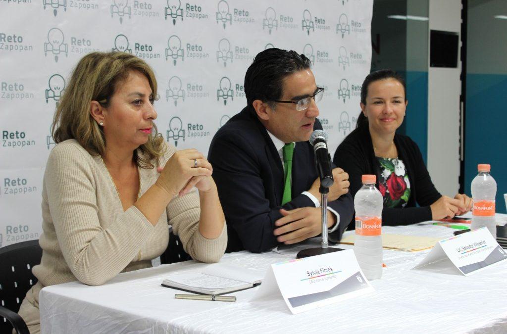 Reto Zapopan firma convenio de colaboración con Manos Accelerator para impulsar proyectos productivos