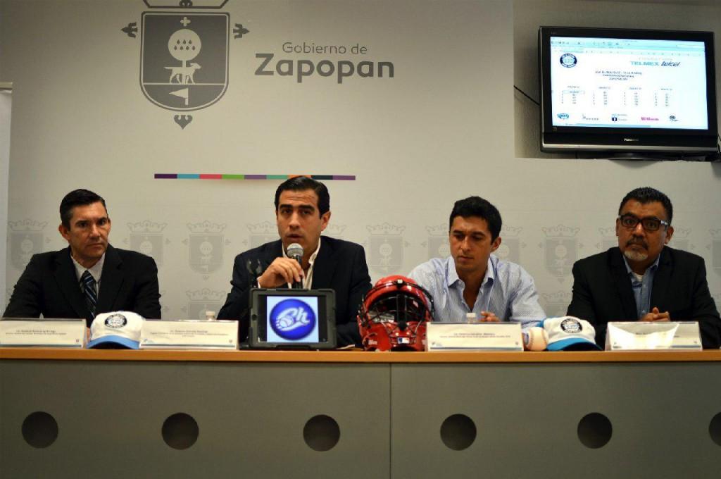 """El municipio de Zapopan será la sede de la Liga de Béisbol Telmex Telcel """"Adrián González"""""""