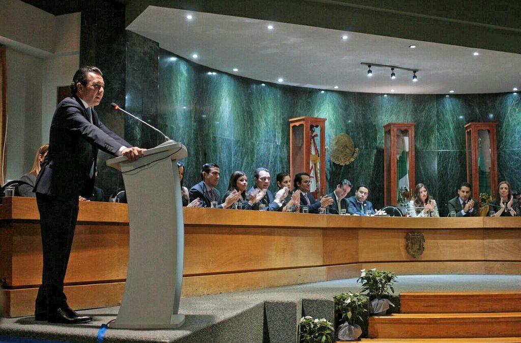 Pablo Lemus Navarro entrega Primer Informe de Gobierno de la Administración 2015-2018