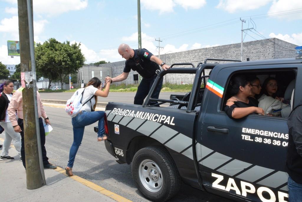 El Gobierno de Zapopan brinda transporte a la ciudadanía ante el paro camionero