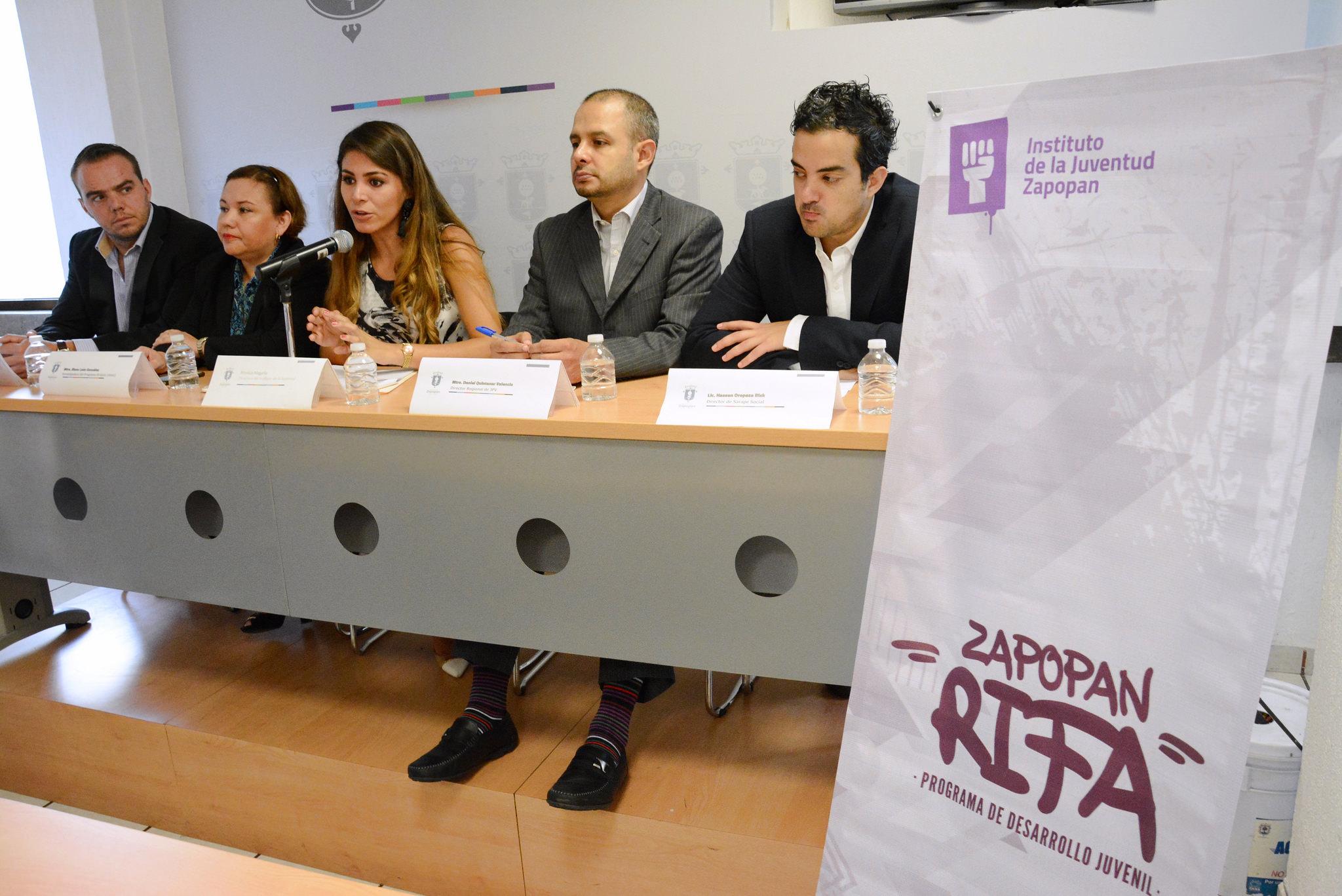 Presentación del programa Zapopan RIFA