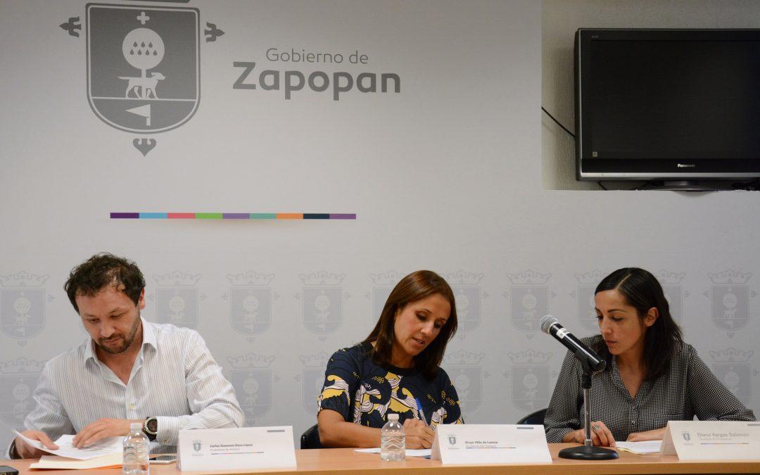 DIF Zapopan firma convenio  de colaboración con Fundación AMMEC para fortalecer el tejido comunitario a través del arte