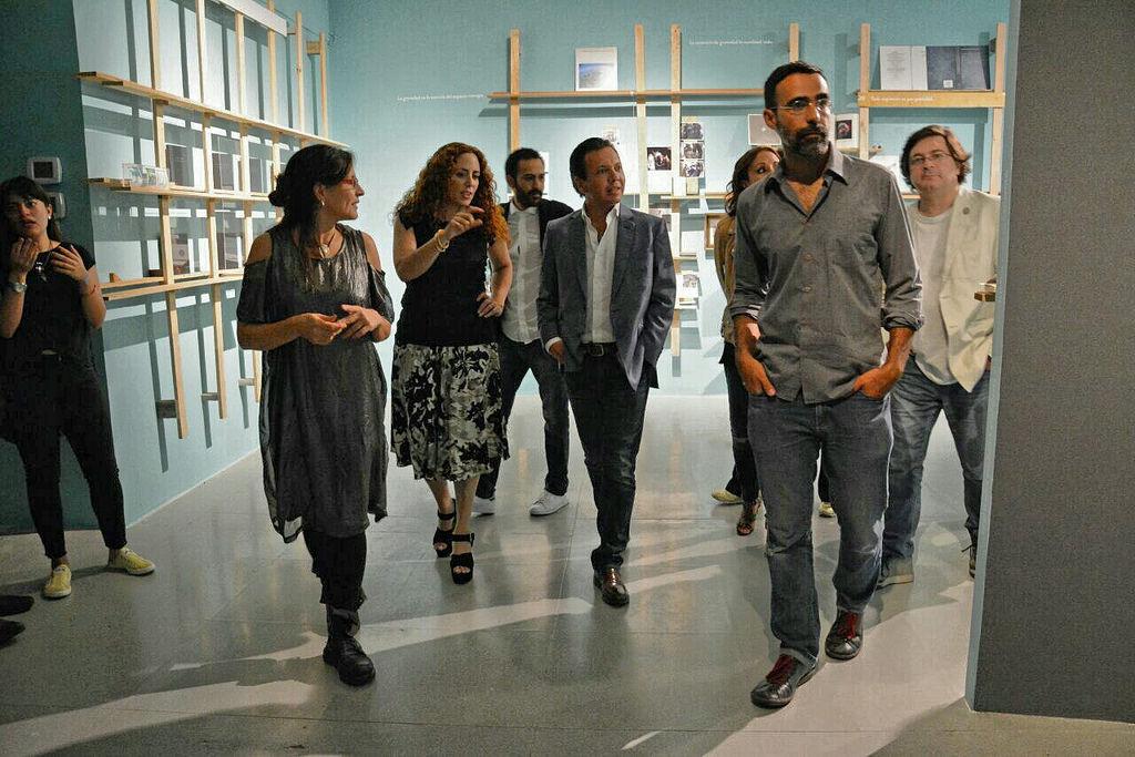 Pablo Lemus participa en la inauguración de La Gravedad de los Asuntos, The Manna Machine y Nosotros y no somos los mismos en el Museo de Arte de Zapopan