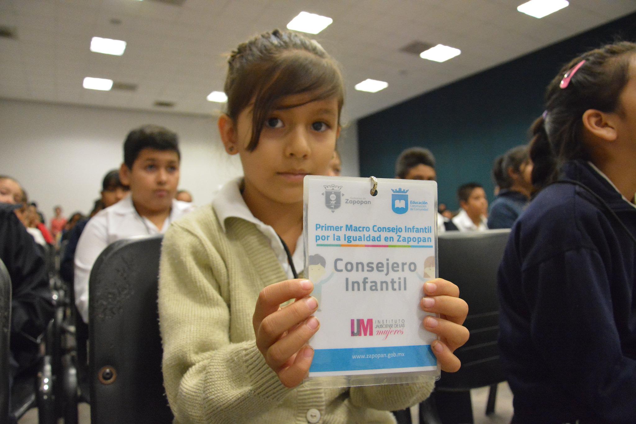 Toma protesta en Zapopan el Primer Macroconsejo Infantil por la Igualdad en Zapopan