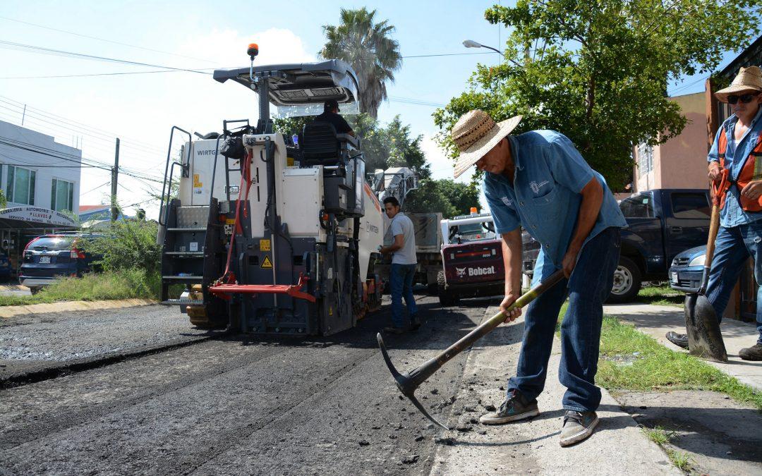 Arranca el Programa de Renovación de Calles de Zapopan en la colonia Jardines del Valle