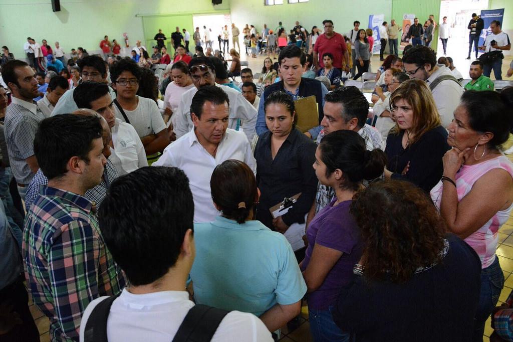 Pablo Lemus presenta el Primer Informe de Gobierno en Villas de Guadalupe