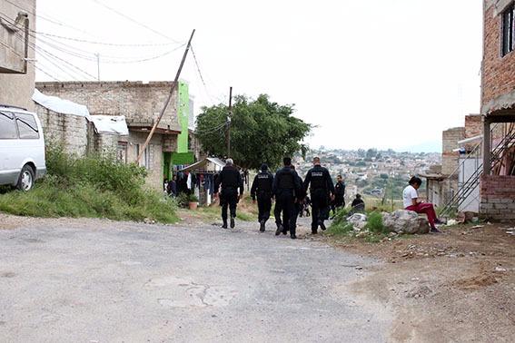 La Policía de Zapopan realiza operativo preventivo en colonias al norte del municipio