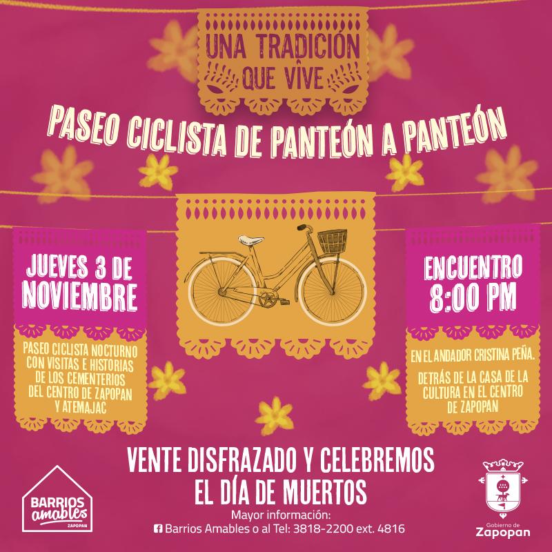 Paseo Ciclista de Panteón a Panteón