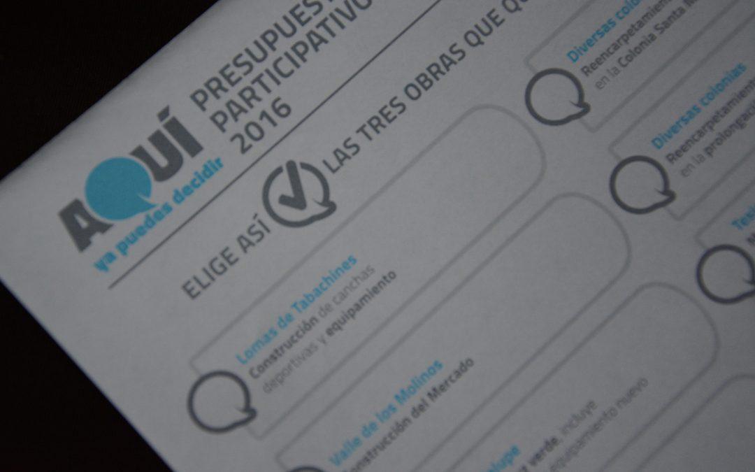Invita Gobierno Municipal a los zapopanos al Taller de Planeación Ciudadana del Presupuesto Participativo 2017