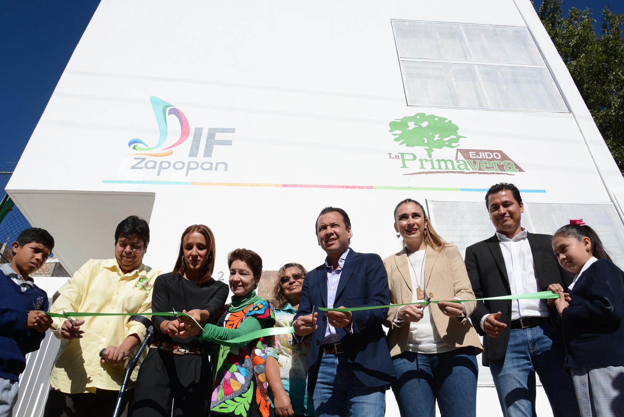 DIF Zapopan reinaugura el Centro de Desarrollo Comunitario La Primavera, tras 11 años de abandono