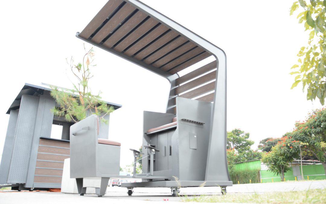 Presenta Zapopan mobiliario prototipo para puestos semifijos de la Plaza de Las Américas