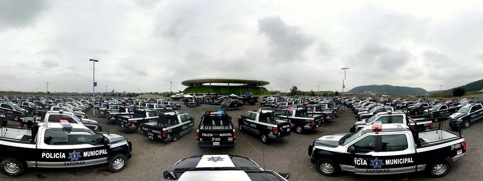 Presenta Zapopan Estado de Fuerza de la Comisaría General de Seguridad Pública