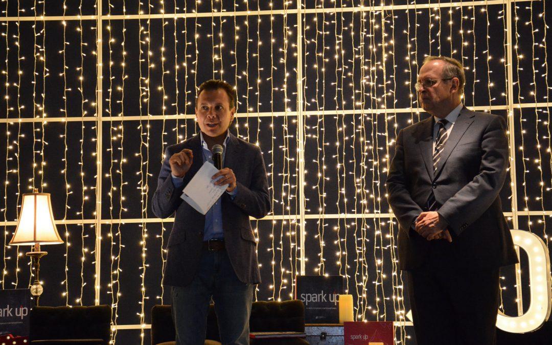 Pablo Lemus participa en la conmemoración de los 10 años de Spark Up