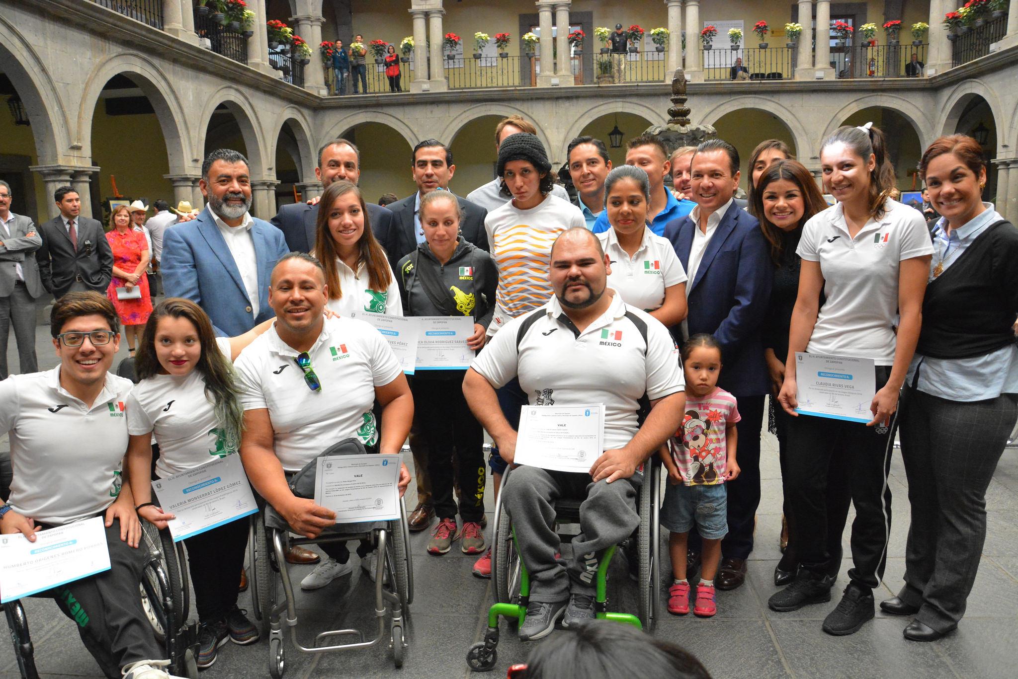 Reconoce Gobierno Municipal a los atletas zapopanos que participaron en Río 2016