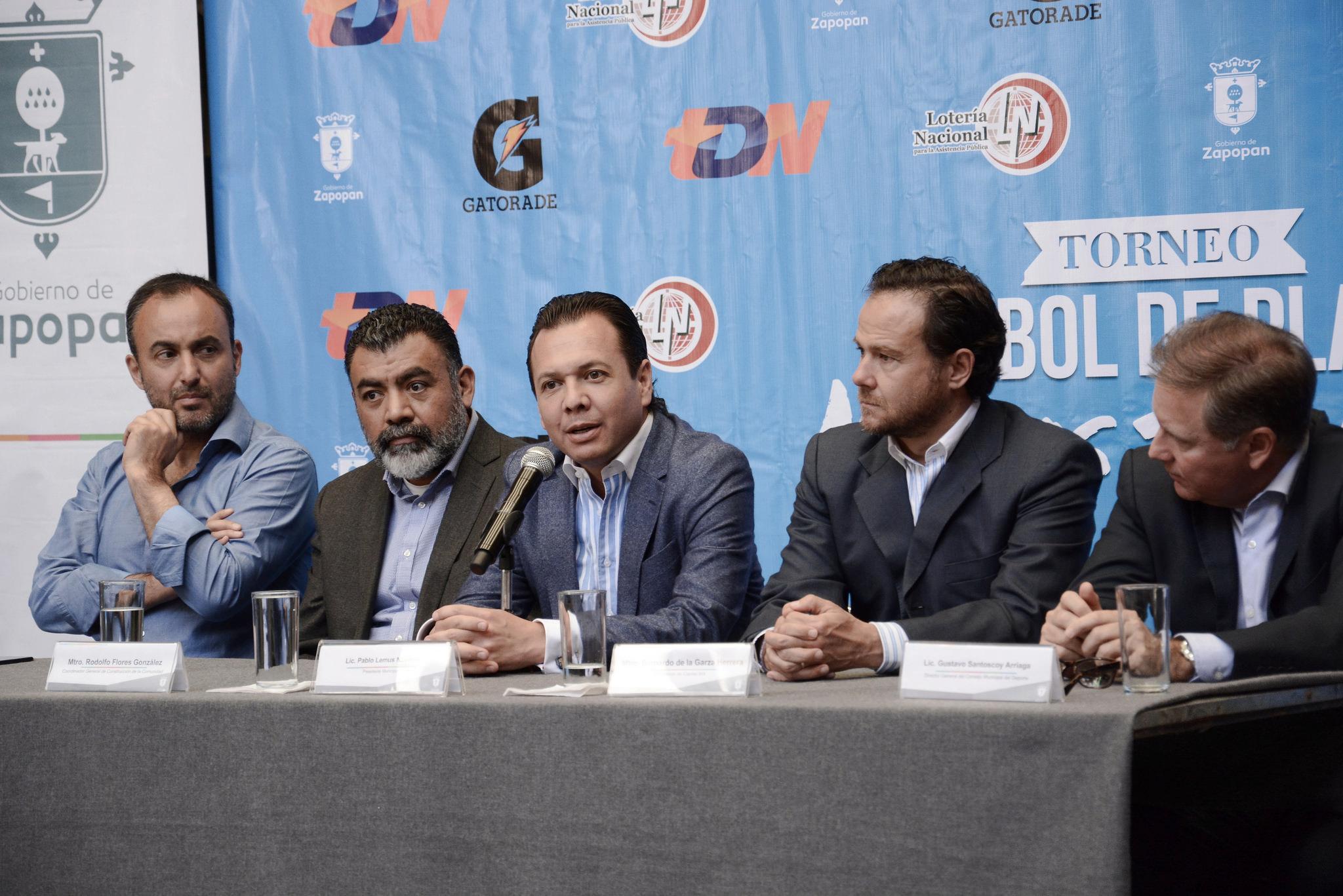 """Zapopan es la sede del primer torneo de fútbol de playa """"Nuevos Talentos"""""""