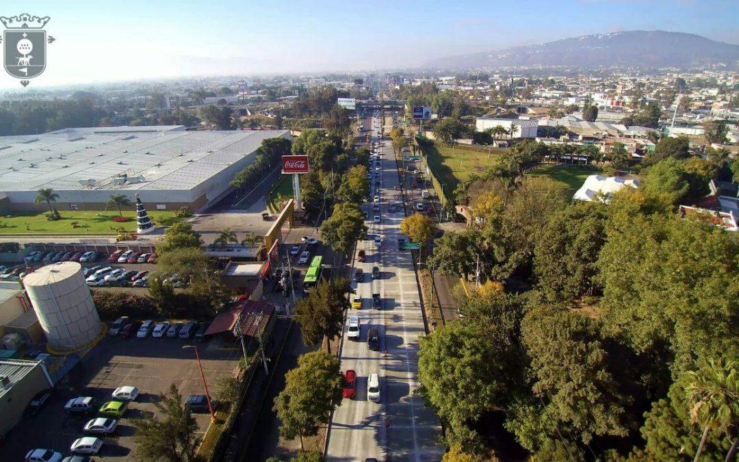 Concluyen primeras dos etapas de sustitución de pavimento por concreto hidráulico en López Mateos; inicia mañana reapertura